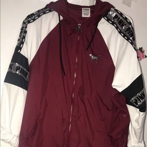 Victoria secret wind breaker